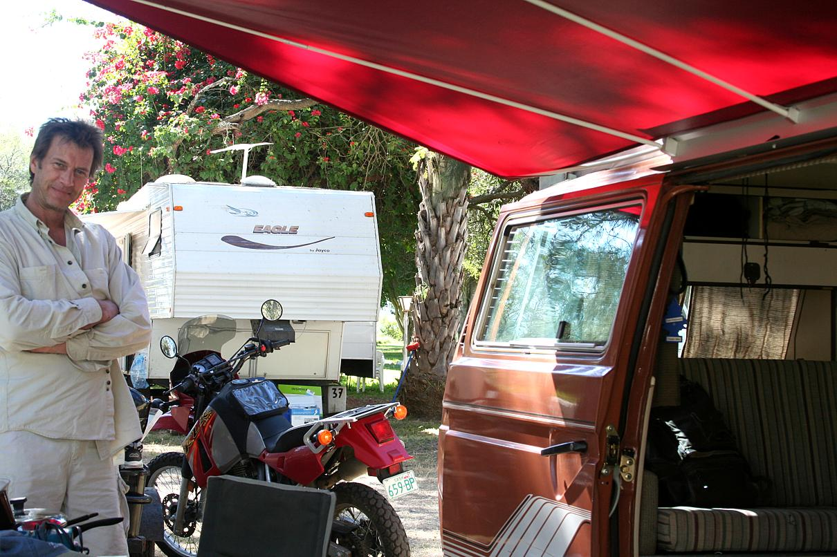 Shadyboy Camper Awning (2/2): Take Down - vwvid | upload here